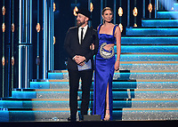 NASHVILLE, TN - NOVEMBER 8:  Sugarland at the 51st Annual CMA Awards at the Bridgetone Arena on November 8, 2017 iin Nashville, Tennessee. (Photo by Scott Kirkland/PictureGroup)