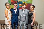 Becky Hussey, Mark Mooney, Evan Lyons and Andrea Kerins  at the CBS The Green Students' Debs Ball at the Ballyroe Heights Hotel on Saturday night
