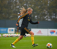 20191006 TUBIZE: Red Flames's Julie Biesmans is pictured at the Open Training of Red Flames on Sunday 6th of October 2019, Tubize, Belgium PHOTO SPORTPIX.BE | SEVIL OKTEM