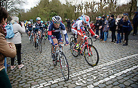 Jonas Van Genechten (BEL/IAM) up the Kruisberg<br /> <br /> 67th Kuurne-Brussels-Kuurne 2015