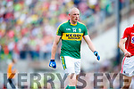Kieran Donaghy Kerry in action against  Cork in the Munster Senior Football Final at Fitzgerald Stadium on Sunday.