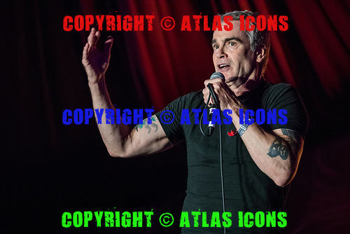 Henry Rollins; Live: 2017<br /> Photo Credit: JOSH WITHERS/ATLASICONS.COM