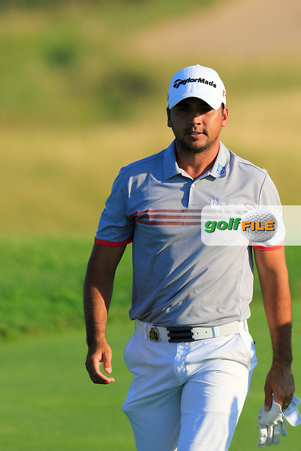 Jason DAY (AUS) walks to the 12th tee during Saturday's Round 3 of the 97th US PGA Championship 2015 held at Whistling Straits, Mosel, Kohler, Wisconsin, United States of America. 15/08/2015.<br /> Picture Eoin Clarke, www.golffile.ie