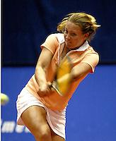 20031209, Rotterdam, LSI Masters, Michelle Gerards in haar partij tegen Sentis