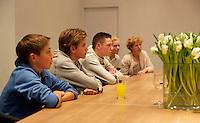 Februari 09, 2015, Netherlands, Rotterdam, Ahoy, ABN AMRO World Tennis Tournament, Young Talents<br /> Photo: Tennisimages/Henk Koster