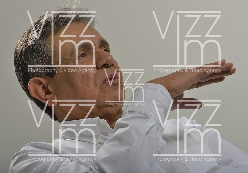 BOGOTÁ -COLOMBIA. 06-12-2013. Antonio López, político colombiano / Antonio Lopez colombian politician, Foto: Gabriel Aponte