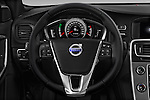 Car pictures of steering wheel view of a 2017 Volvo S60 R-Design 4 Door Sedan Steering Wheel