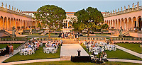 P- Ringling Museum Courtyard & Arched Walkways During SATW Event, Sarasota FL 5 12