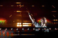 David Guetta  at the Benicassim Festival 2012