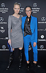 LILY BECKER AND FRANZISKA KNUPPE.attend the Mercedes-Benz Autumn/Winter 2013 Fashion Week, Berlin_17/01/2013.MANDATORY PHOTO CREDIT: ©Mercedes/NEWSPIX INTERNATIONAL . .(Failure to by-line the photograph will result in an additional 100% reproduction fee surcharge. You must agree not to alter the images or change their original content)..            *** ALL FEES PAYABLE TO: NEWSPIX INTERNATIONAL ***..IMMEDIATE CONFIRMATION OF USAGE REQUIRED:Tel:+441279 324672..Newspix International, 31 Chinnery Hill, Bishop's Stortford, ENGLAND CM23 3PS.Tel: +441279 324672.Fax: +441279 656877.Mobile: +447775681153.e-mail: info@newspixinternational.co.uk