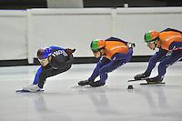 Shorttrack training Thialf 150813 NED