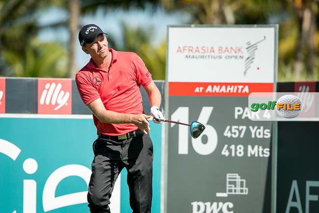 Marcel Siem (GER) during the 1st round of the AfrAsia Bank Mauritius Open, Four Seasons Golf Club Mauritius at Anahita, Beau Champ, Mauritius. 29/11/2018<br /> Picture: Golffile | Mark Sampson<br /> <br /> <br /> All photo usage must carry mandatory copyright credit (&copy; Golffile | Mark Sampson)