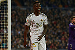 Vinicius Junior of Real Madrid during La Liga match between Real Madrid and Sevilla FC at Santiago Bernabeu Stadium in Madrid, Spain. January 18, 2020. (ALTERPHOTOS/A. Perez Meca)