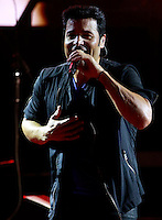 The Puerto Rican singer  Chayanne In USA