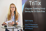 Stephanie McCort (TriTix Leadership) during the 2019 TRITIX Forum at Arts West Building on September 19, 2019 in New York City.