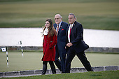 Former New York City Mayor Rudy Giuliani (C) arrives for a meeting with United States President-elect Donald Trump (not pictured) at the clubhouse of Trump International Golf Club, in Bedminster Township, New Jersey, USA, 20 November 2016.<br /> Credit: Peter Foley / Pool via CNP