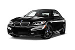 Stock pictures of low aggressive front three quarter view of 2016 BMW 2 Series M235i 2 Door Coupe Low Aggressive
