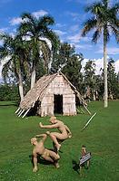 Cuba, Guama: Reconstruction of native Indian village | Kuba, Guama: Nachbau eines Dorfes der indianischen Ureinwohner