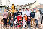 l-r Mary Griffin, Mary Naughton, Aaron Horgan, Rauben Hogan, Lauren Hurley, Niamh Hogan, Nuala Hrley, Tiernan Hurley, John Francis Flynn, Seoda Hurley, Kevin Horgan, Connie Naughton, Mathew Cahill, Pat Cahill and Moira Horgan pictured at the unveiling of the Lady statue in Killorglin last Saturday.