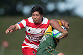 Counties Manukau Premier Club Rugby game between Karaka and Pukekohe played on Saturday March 12th 2016 at Karaka Sports Park.<br /> Karaka won the game 41 - 3 after leading 22 - 3 at halftime.<br /> Photo by Richard Spranger.