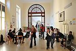 MITO per la citta, appuntamenti musicali itineranti per Settembre Musica. Les Hautbois nell'atrio dell'ospedale Mauriziano.