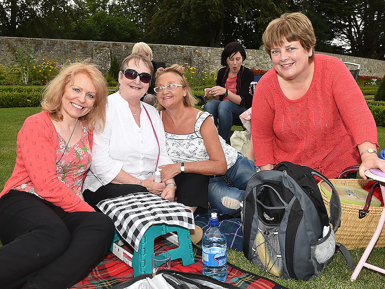 Fances Kearney, Marcella McBride, Una Hughes and Sandra McDonnell pictured at Wuthering Heights at Oldbridge House. Photo:Colin Bell/pressphotos.