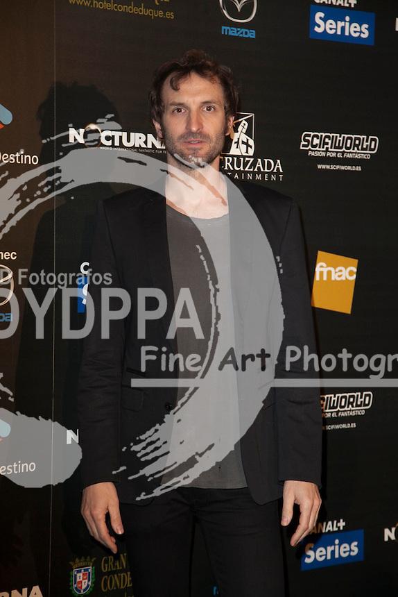 "Celebrities attend ""Nocturna"" Madrid Fantastic Film Festival. In the image: Julian Villagran at Palafox Cinema in Madrid Spain. May 28, 2013  Nacho Lopez / DYD FOTOGRAFOS-DYDPPA"