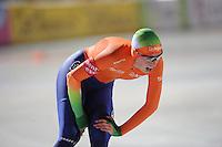 SCHAATSEN: BOEDAPEST: Essent ISU European Championships, 06-01-2012, 3000m Ladies, Annouk van der Weijden NED, ©foto Martin de Jong