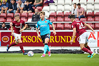 Fleetwood Town's Conor McAleny breaks<br /> <br /> Photographer Andrew Kearns/CameraSport<br /> <br /> The EFL Sky Bet League One - Northampton Town v Fleetwood Town - Saturday August 12th 2017 - Sixfields Stadium - Northampton<br /> <br /> World Copyright &copy; 2017 CameraSport. All rights reserved. 43 Linden Ave. Countesthorpe. Leicester. England. LE8 5PG - Tel: +44 (0) 116 277 4147 - admin@camerasport.com - www.camerasport.com