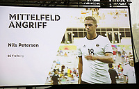 Nils Petersen (SC Freiburg) ist für den WM Kader nominiert - 15.05.2018: Vorläufige WM-Kaderbekanntgabe, Deutsches Fußballmuseum Dortmund