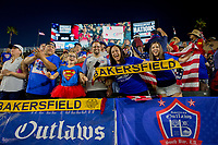 Carson, CA - Thursday August 03, 2017: American OutlawsUSA fans during a 2017 Tournament of Nations match between the women's national teams of the United States (USA) and Japan (JAP) at StubHub Center.