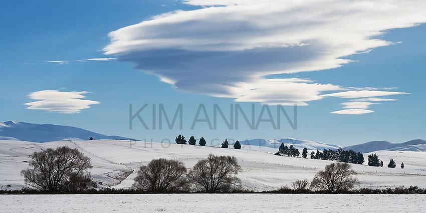 Winter Sky, Ida Valley, Central Otago