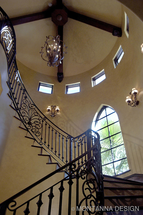 Rotunda with iron railing