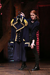 """Hamilton costume during the eduHAM Q & A before The Rockefeller Foundation and The Gilder Lehrman Institute of American History sponsored High School student #EduHam matinee performance of """"Hamilton"""" at the Richard Rodgers Theatre on October 30, 2019 in New York City."""