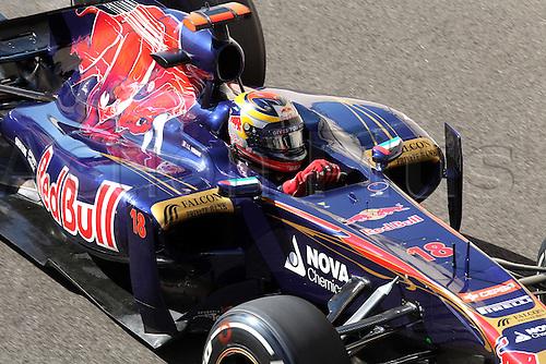 11.11.2011 Abu Dhabi, United Arab Emirates. Yas Marina Circuit, Sebastien Buemi, Toro Rosso, .., during the practice day of the FIA Formula One Grand Prix of Abu Dhabi UAE.