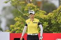 Sung Hyun Park (KOR) in action on the 3rd during Round 2 of the HSBC Womens Champions 2018 at Sentosa Golf Club on the Friday 2nd March 2018.<br /> Picture:  Thos Caffrey / www.golffile.ie<br /> <br /> All photo usage must carry mandatory copyright credit (&copy; Golffile | Thos Caffrey)