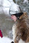 medieval knight resting between skirmishes, Pilsen