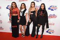 Jesy Nelson, Jade Thirlwell, Perrie Edwards and Leigh Ann Pinnock (Little Mix)<br /> at the Jingle Bell Ball 2016, O2 Arena, Greenwich, London.<br /> <br /> <br /> &copy;Ash Knotek  D3208  03/12/2016