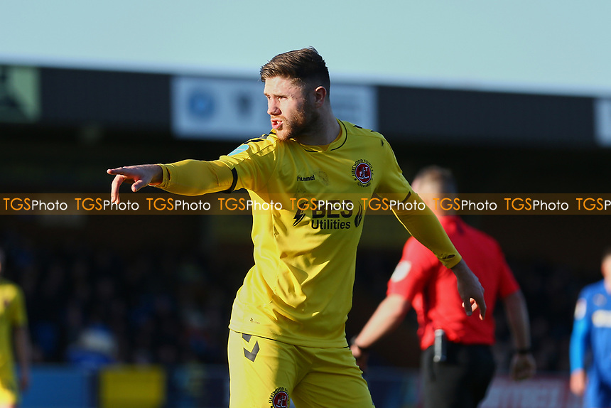Wes Burns of Fleetwood Town during AFC Wimbledon vs Fleetwood Town, Sky Bet EFL League 1 Football at the Cherry Red Records Stadium on 8th February 2020