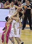 18.02.2012. Palau St. Jordi, Barcelona.Copa del Rey Semifinal entre el Real Madrid y el Banca Civica