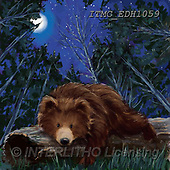 Marcello, CUTE ANIMALS, LUSTIGE TIERE, ANIMALITOS DIVERTIDOS, paintings+++++,ITMCEDH1059,#AC#, EVERYDAY ,brown bears