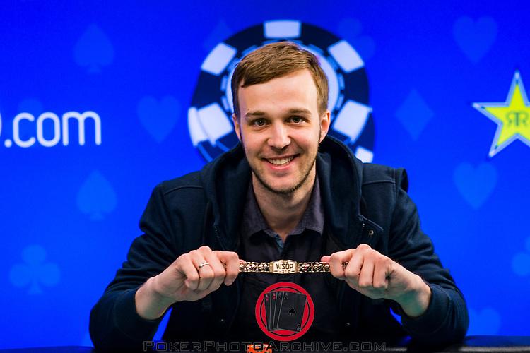 Bracelet Winner Andrey Zhigalov