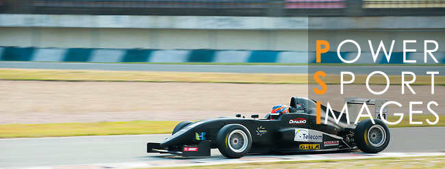 Matthew Swanepoel of South Africa and Arrows Racing drives during the Formula Masters China Series as part of the 2015 Pan Delta Super Racing Festival at Zhuhai International Circuit on September 19, 2015 in Zhuhai, China.  (Photo by Power Sport Images/Getty Images)