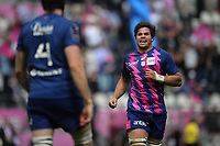 Jono Ross of Stade Francais celebrates during the European Challenge Cup semi final between Stade Francais and Bath on April 23, 2017 in Paris, France. ( Photo by Andre Ferreira / Icon Sport )