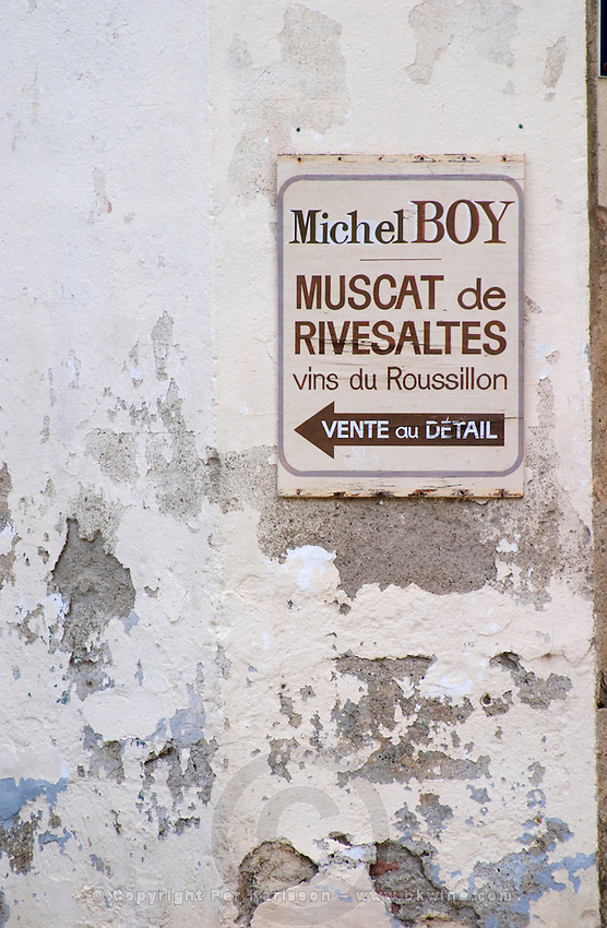 Micel Boy. Rivesaltes town, Roussillon, France