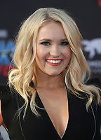 "HOLLYWOOD, CA - April 19: Emily Osment, At Premiere Of Disney And Marvel's ""Guardians Of The Galaxy Vol. 2"" At The Dolby Theatre  In California on April 19, 2017. Credit: FS/MediaPunch"