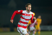 Matty Blair of Doncaster Rovers during the Sky Bet League 2 match between Newport County and Doncaster Rovers at Rodney Parade, Newport, Wales on 10 February 2017. Photo by Mark  Hawkins / PRiME Media Images.