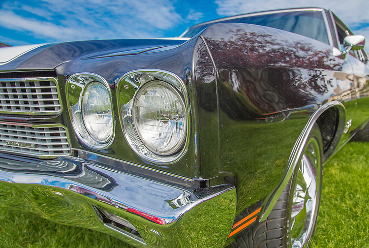 A 1970 Chevy Chevelle at the 2012 Alaska Classic Car Show in Anchorage.