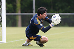 28 May 2013: Brian Rowe. The Los Angeles Galaxy held a training session on Field 3 at WakeMed Soccer Park in Cary, NC the day before playing in a 2013 Lamar Hunt U.S. Open Cup third round game.