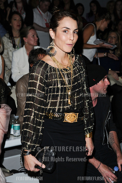 Noomi Rapace at the Mark Fast catwalk show as part of London Fashion Week SS13, Somerset House, London. 17/09/2012 Picture by: Steve Vas / Featureflash